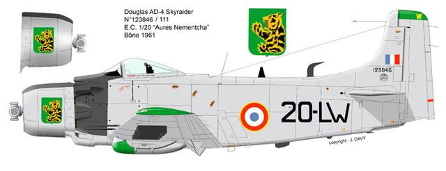 "AD-4 1961 EC 1/20 "" AURES-NEMENTCHA "" Tamiya 1/48 Fini 21_910"