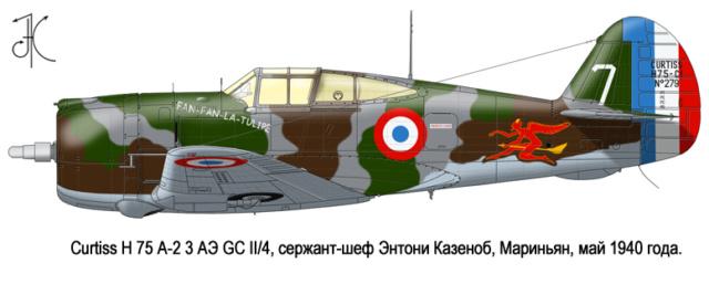 Curtiss H81A1(P40A)   Airfix 1/48 Fini 21_9_b10