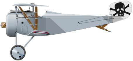 Nieuport 17 de chez academy au 1/32 22_2510