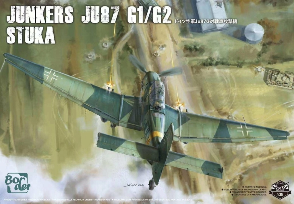 junkers JU 87 G/D Tank Buster  1/72 REVELL FINI !!!!!! - Page 2 23205310