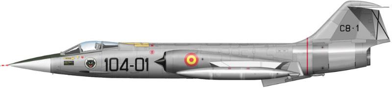 F 104 espagnol Hasegawa 1/48 24_111