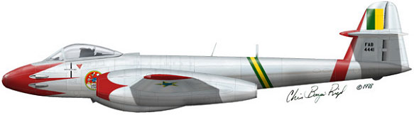 GLOSTER METEOR F8  ( AIRFIX  1/48)  FINI 26_111
