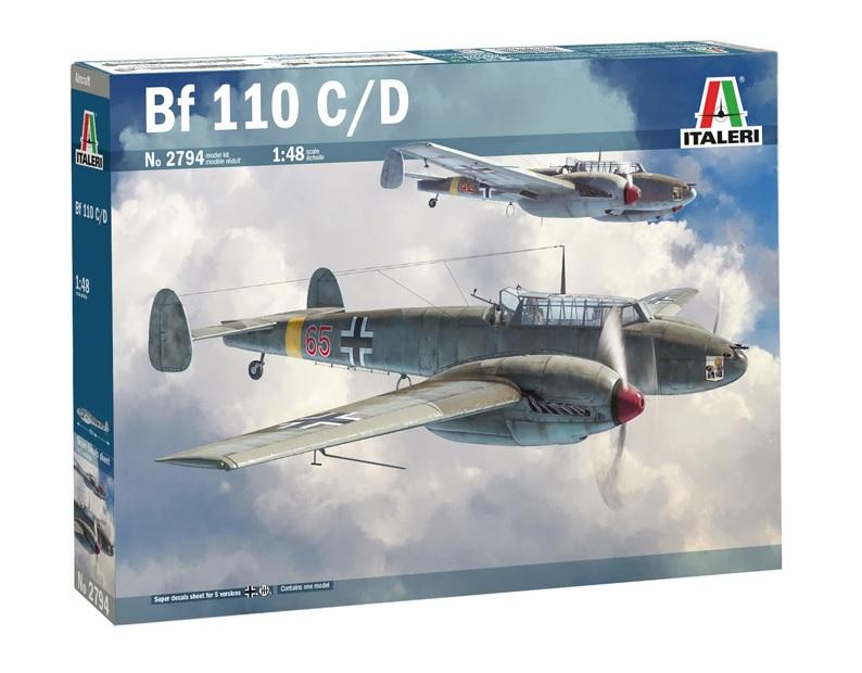 Fil rouge 2021 * Bf 110 Italeri ( Fujimi 1/48 ) 29424_11