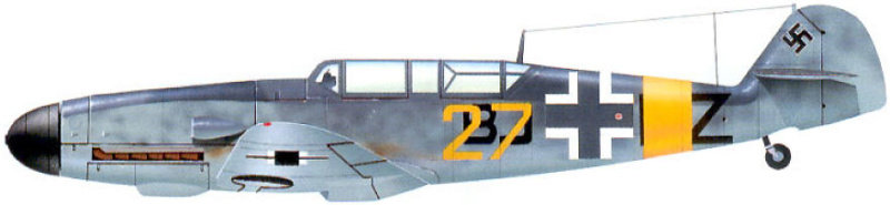 MESSERSCHMITT  bf 109  G.12 AZ model 1/72 2_13710