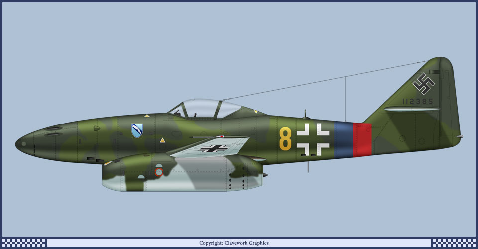 Messerscmitt Me 262A-1A 1/72 Revell page2 - Page 3 2_16_b11