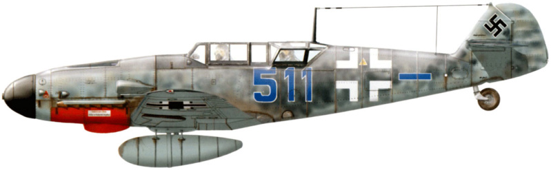 MESSERSCHMITT  bf 109  G.12 AZ model 1/72 2_18010
