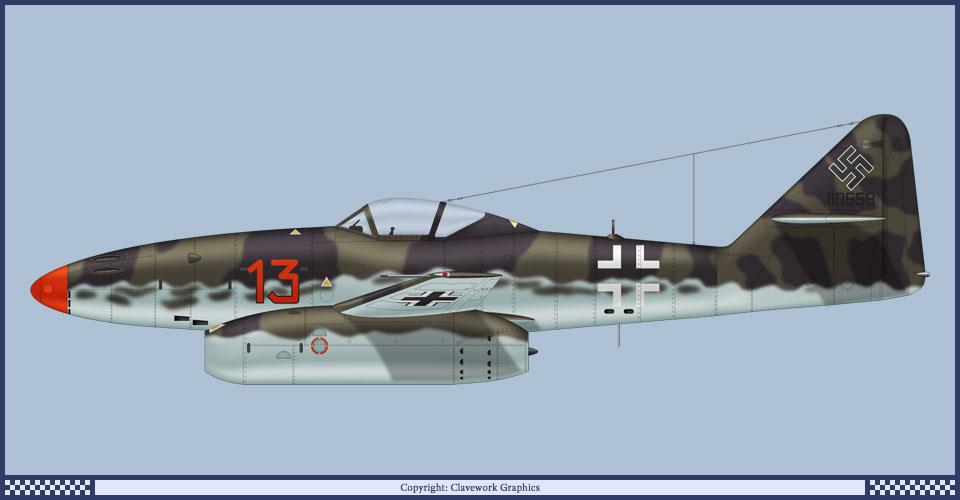 Messerscmitt Me 262A-1A 1/72 Revell page2 - Page 3 2_19_b10