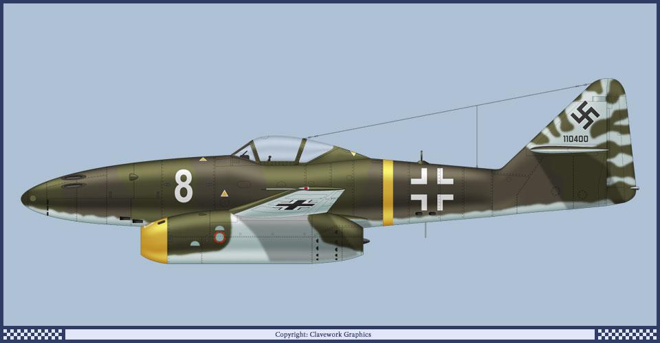 Messerscmitt Me 262A-1A 1/72 Revell page2 - Page 3 2_2_b411