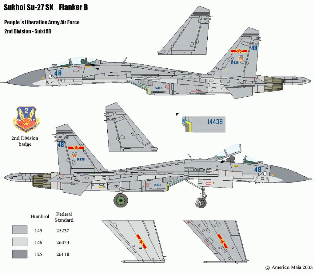 SUKHOI SU 27 FLANKER B ( Revell au 1/72 )  30_410