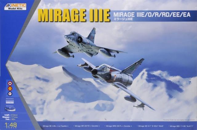 Mirage III EL 1/48 Kinetic (defi au trésorier de l' AMO61) 31228510
