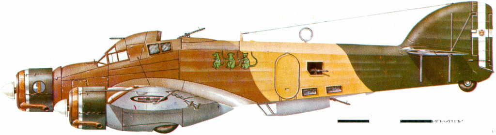 savoia-marchetti sm-79-2 sparviero trumpeter 1/48 32_1712