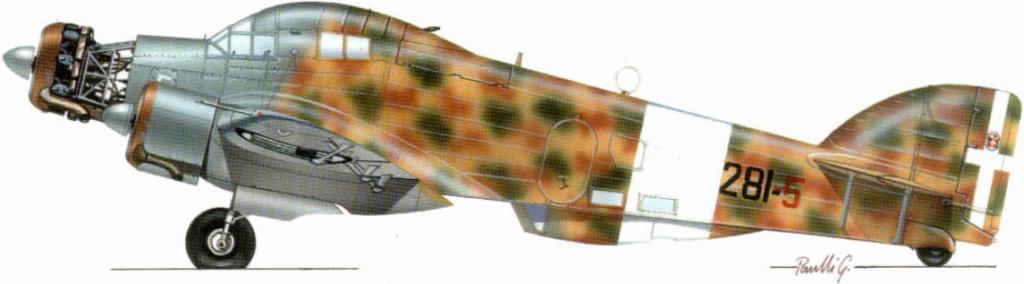 savoia-marchetti sm-79-2 sparviero trumpeter 1/48 32_18_11