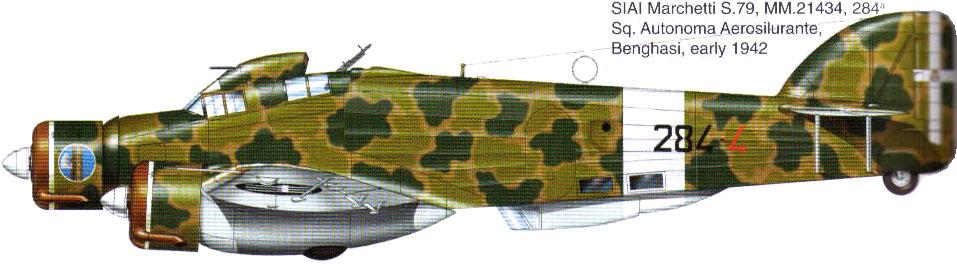 savoia-marchetti sm-79-2 sparviero trumpeter 1/48 32_3110