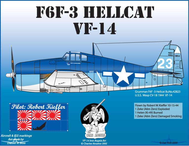 Hasegawa - F6F3 Hellcat - 1/48 3_1110