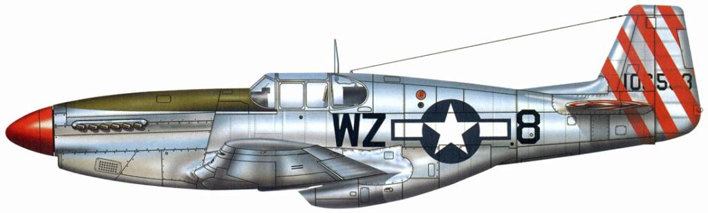 P-51D5 ICM 1/48  Lieutenant Charles H. SIMONSON, 356 FSq / 354 FGr (2013)FINI 3_27710