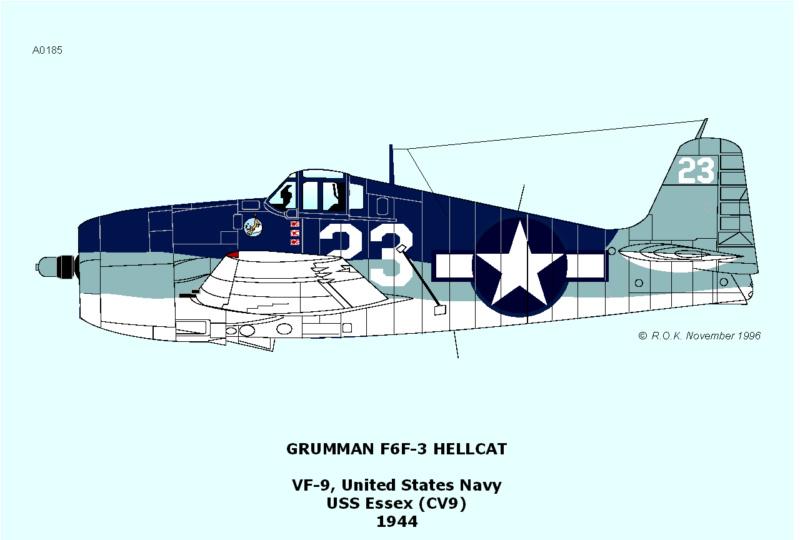 Hasegawa - F6F3 Hellcat - 1/48 3_3510