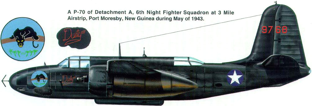 P-70 Nighthawk 1/72 Revell FINI!!!!!!! 3_511