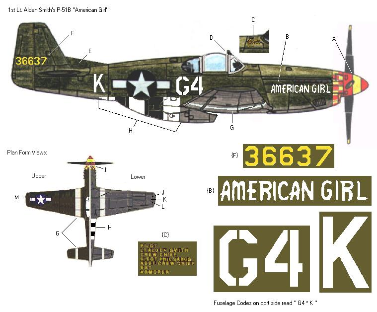 P-51D5 ICM 1/48  Lieutenant Charles H. SIMONSON, 356 FSq / 354 FGr (2013)FINI 3_6310