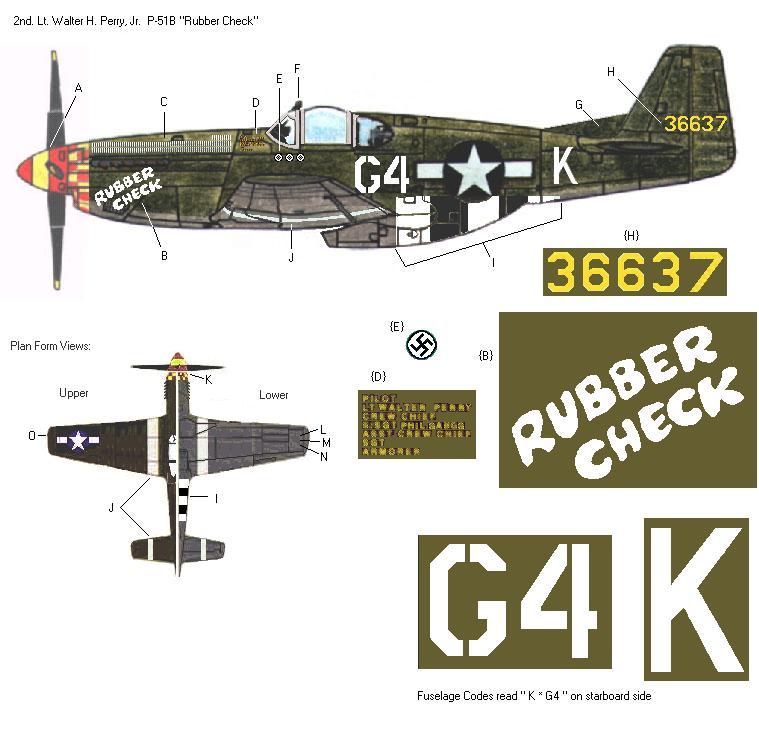 P-51D5 ICM 1/48  Lieutenant Charles H. SIMONSON, 356 FSq / 354 FGr (2013)FINI 3_6410