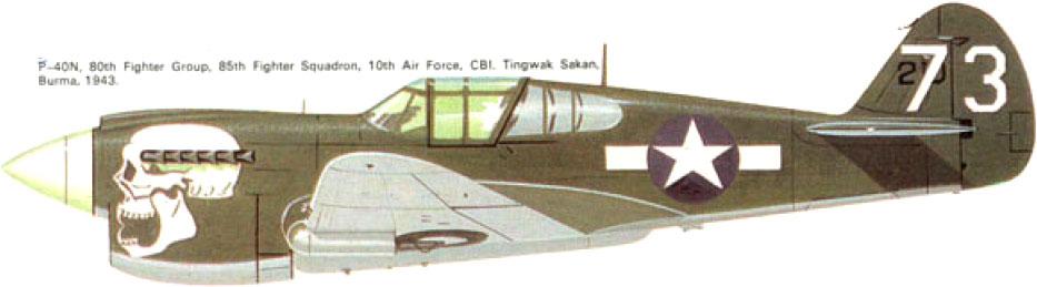 From the box - Curtiss P-40N Warhawk [Eduard 1/48] 3_7210