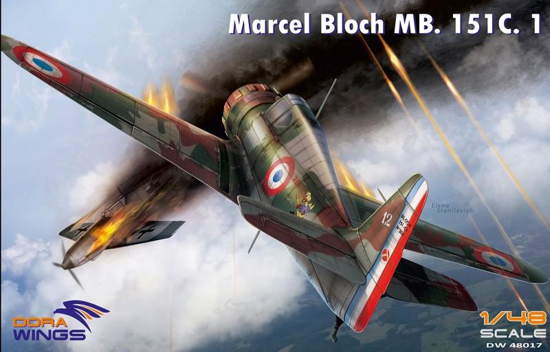 Ouvre-boîte Bloch 151 C1 Dorawings 1/48  4801710