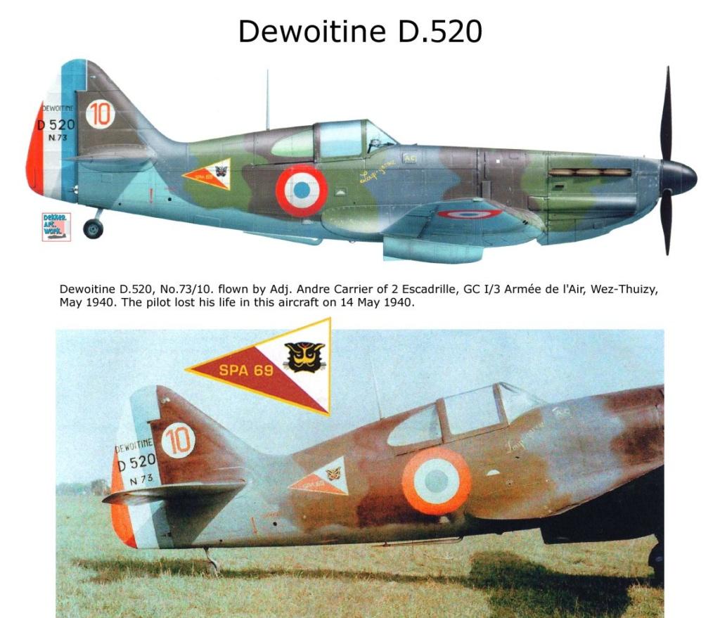 D-520 Hasegawa 1/72 52010