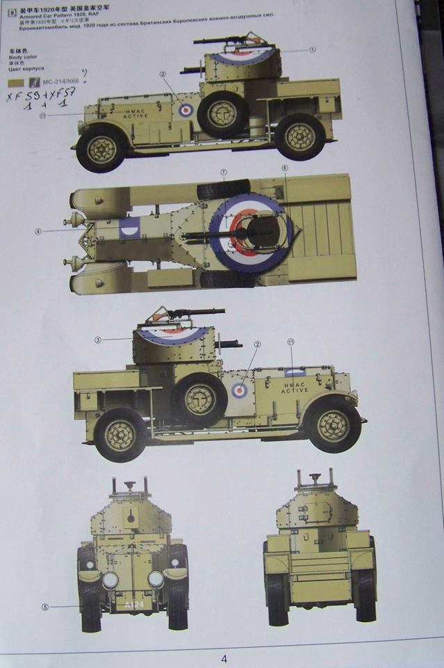 Rolls Royce British Armored Car  Meng 1/35 55528610