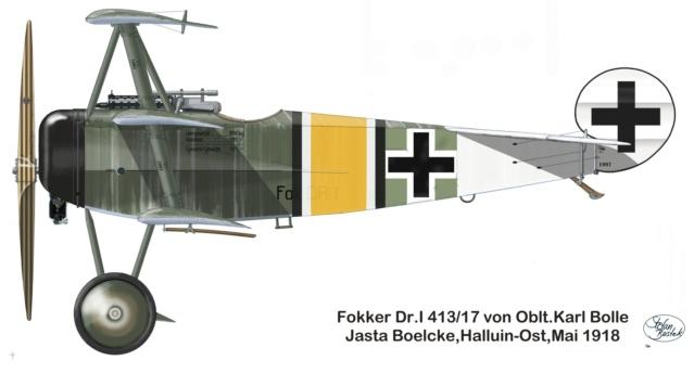 L' oiseau blessé d'une flèche-[RODEN] Fokker DR1 1/32 (ROD 605) - Page 2 59_1010