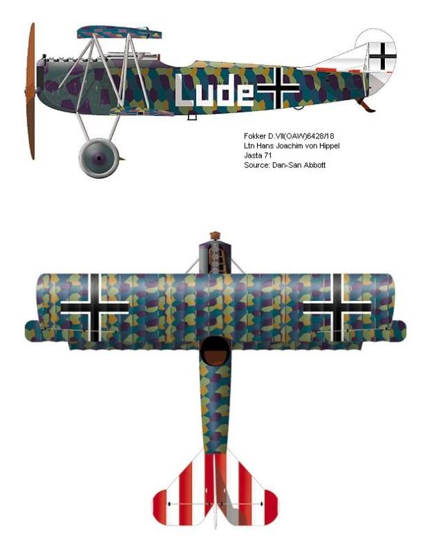 [revell] Fokker DVII 59_1310
