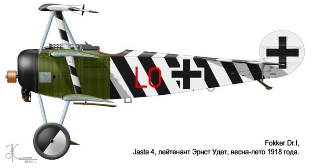 L' oiseau blessé d'une flèche-[RODEN] Fokker DR1 1/32 (ROD 605) - Page 2 59_25_10