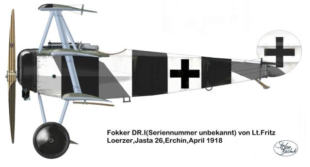 """L' oiseau blessé d'une flèche 1918 -[RODEN] Fokker DR1 1/32 (ROD 605)-[ICM] Ford t touring 1/35 (n°35667) """"FIN"""" - Page 2 59_2810"""