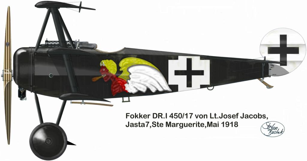 Fokker Dr 1 triplan de Manfred von Richthofen Revell 1/72 FINI !!!!!! - Page 2 59_3_b11