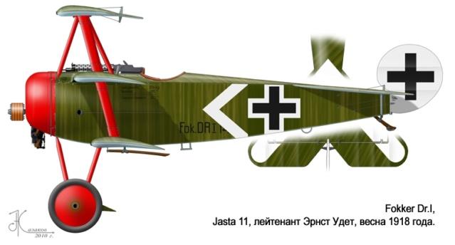 L' oiseau blessé d'une flèche-[RODEN] Fokker DR1 1/32 (ROD 605) - Page 2 59_4710