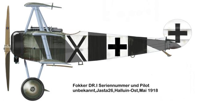 """L' oiseau blessé d'une flèche 1918 -[RODEN] Fokker DR1 1/32 (ROD 605)-[ICM] Ford t touring 1/35 (n°35667) """"FIN"""" - Page 2 59_4_b10"""