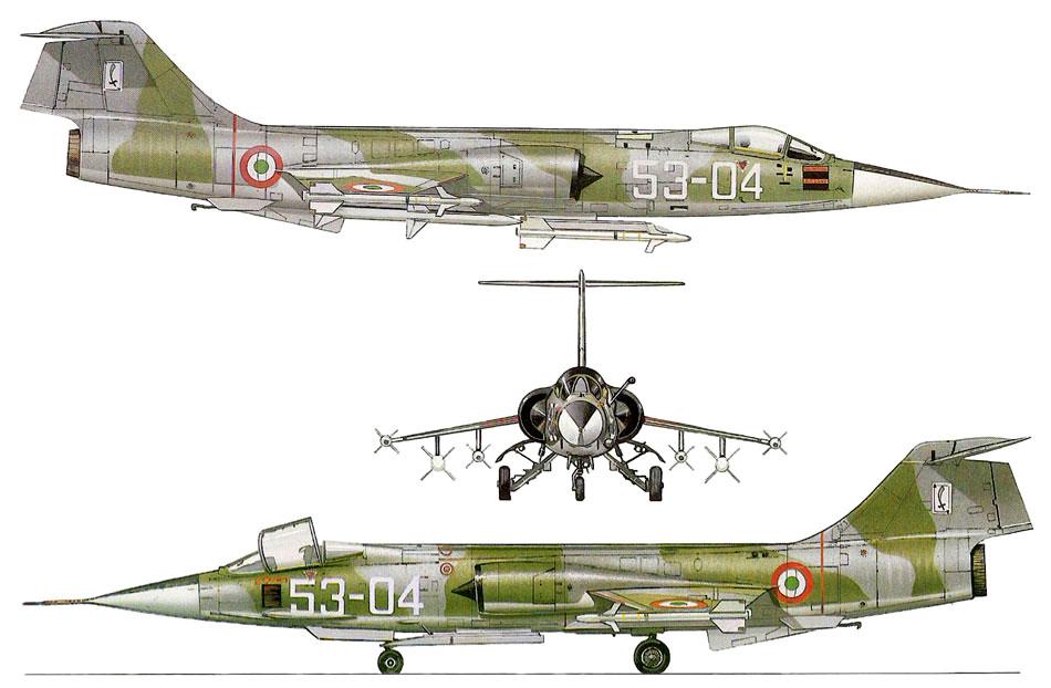 F 104 S (Monogram 1/48 + scratch)   FINI   60_3910