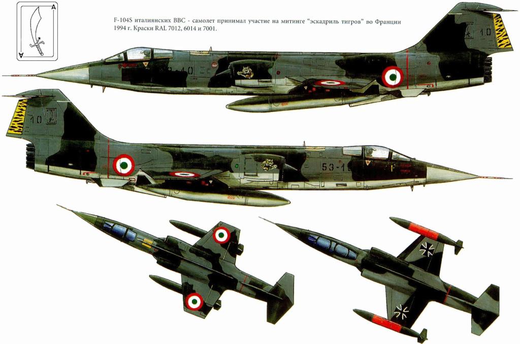 F 104 S (Monogram 1/48 + scratch)   FINI   60_810