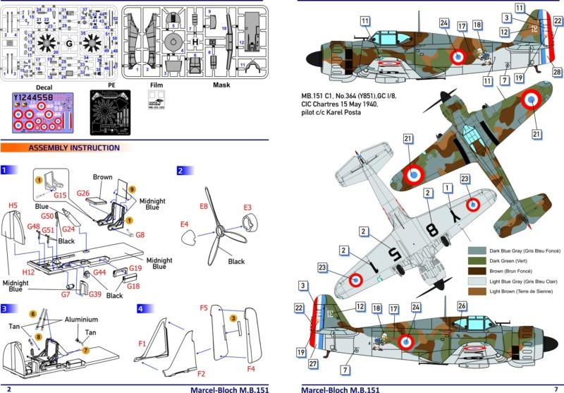 Ouvre-boîte Bloch 151 C1 Dorawings 1/48  69104010