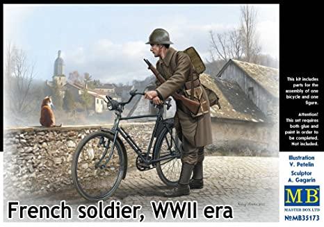 pas à pas-chasseur cycliste-mobilisation générale 1914 (1/35) terminé (p 5) 71bjzv10