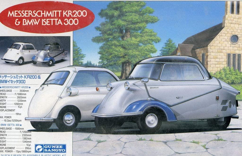 BMW ISETTA 250   REVELL 1/16 71bttt10