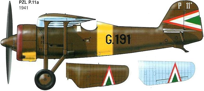 pzl p.11 c fighterin romanian  1/32 ibg modéle  73_1_b11