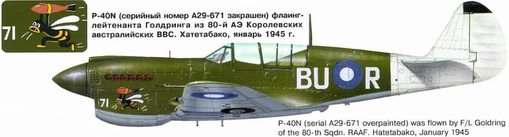 From the box - Curtiss P-40N Warhawk [Eduard 1/48] 81_110
