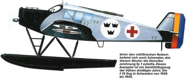 Fil rouge 2019 : Junkers F.13 - (Revell 1/72) *** Terminé en pg 4 90_110