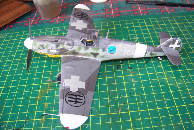 MESSERSCHMITT  bf 109  G.12 AZ model 1/72 91361010