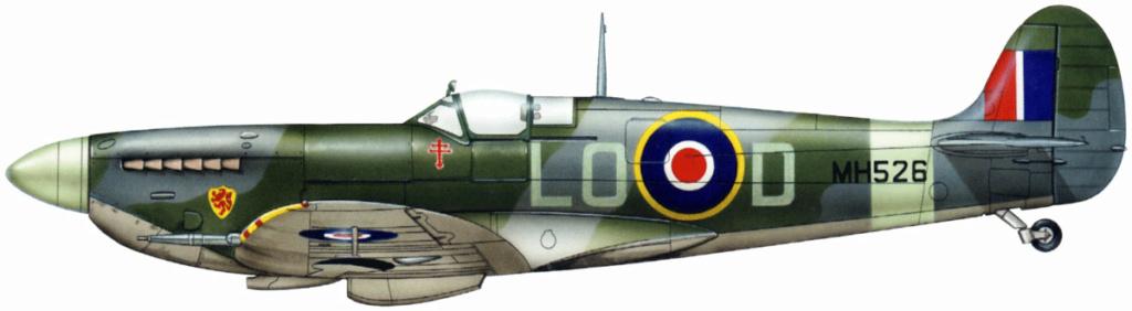 Spitfire MK.IXC late version profipack Eduard 1/48 9_18110
