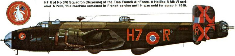 Fil rouge 2021 * Handley Page HALIFAX B III - Airfix 1/72 9_1812