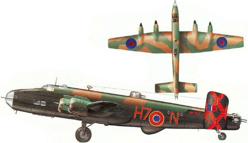 Fil rouge 2021 * Handley Page HALIFAX B III - Airfix 1/72 9_511