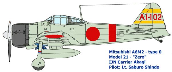A6M3 Reisen Cdt Saburo Shindo, 582 Kokutai , Buin, juin 1943  ( Tamiya 1/48) Akagi_10