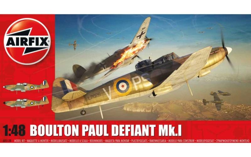 Boulton Paul Defiant MKI (Airfix 1/48) Finish ! Boulto10