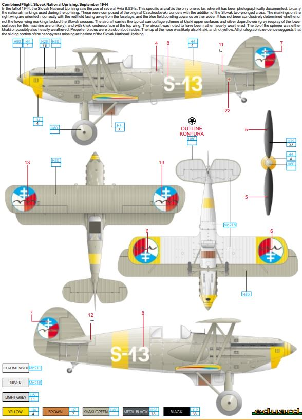 From the box - AVIA B-534 - KP - 1/72  - Page 2 Captur30