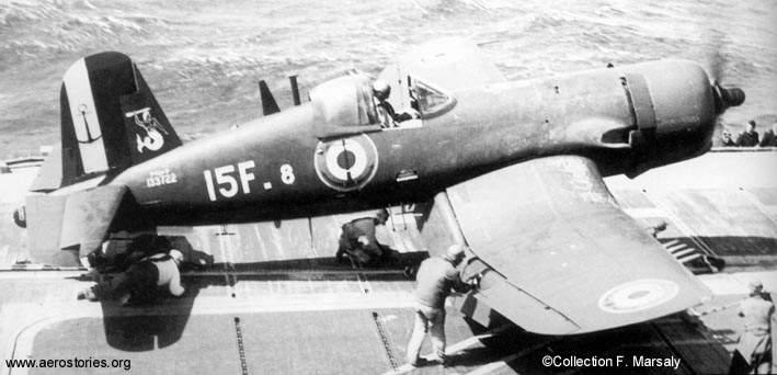 "F4U-7 Corsair ""french navy"" 48 de HASEGAWA (fini) Corsai10"